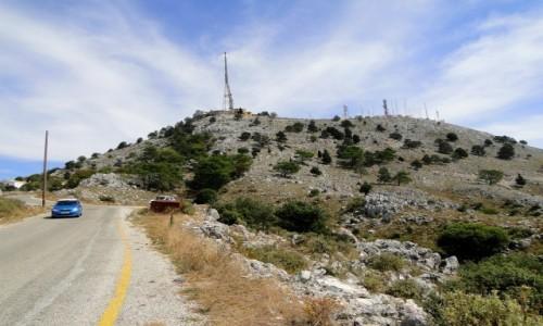 Zdjęcie GRECJA / Wyspy Jońskie / Korfu / Jadąc na Pantokrator...
