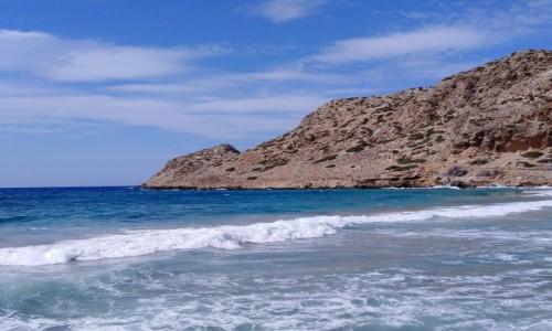 Zdjecie GRECJA / Karpathos / Arkasa / Morze - tak!