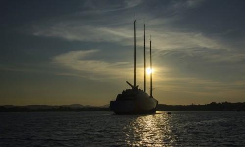 Zdjecie GRECJA / Wyspy Jońskie / Kerkyra / Yacht