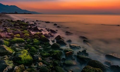 GRECJA / Dodekanez / Kardamena / o wschodzie słońca