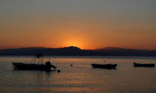 Zdjecie GRECJA / Wyspy Jońskie / Korfu / Za moment wzejdzie słońce...