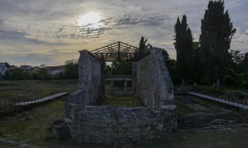 Zdjecie GRECJA / Wyspy Jońskie / Kerkyra / Bazylika w Paleopolis
