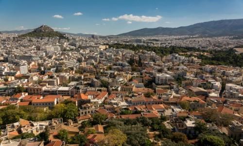 Zdjecie GRECJA / Attyka / Ateny / Ateny z Akropolu