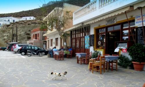 Zdjecie GRECJA / Karpathos / Olympos / Leniwy dzień
