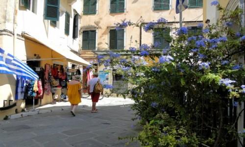 GRECJA / Wyspy Jońskie / Korfu / Klimaty miasta Korfu.