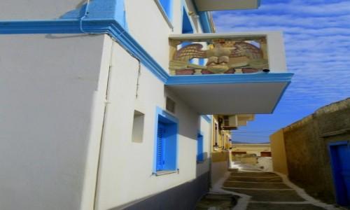 GRECJA / Karpathos / Olympos / Balkon z orłem