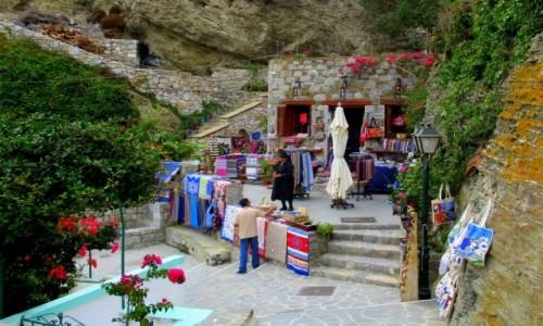 GRECJA / Karpathos / Olympos / Dywanowo z góry