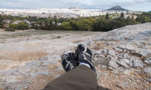 GRECJA / Ateny / Wzgórza Filopaposa / Ateny - relaks