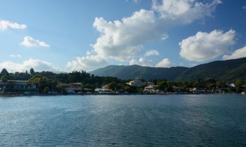Zdjecie GRECJA / Wyspy Jońskie / Korfu / Ipsos - między wodą i niebem