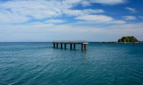 Zdjęcie GRECJA / Wyspy Jońskie / Corfu / Mysia Wyspa - Pontikonissi