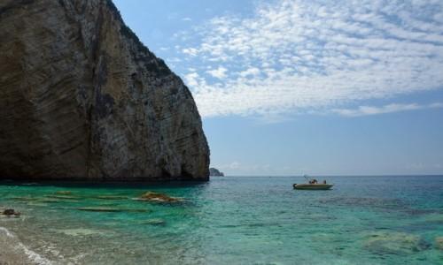 Zdjecie GRECJA / Wyspy Jońskie - Korfu / CHOMI BEACH / Rajska Plaża