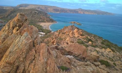 Zdjecie GRECJA / Kreta / Plaża VAI / Idziemy na Plażę VAI
