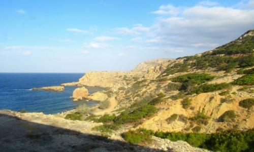 Zdjecie GRECJA / Karpathos / Karpathos / W drodze do Olympos