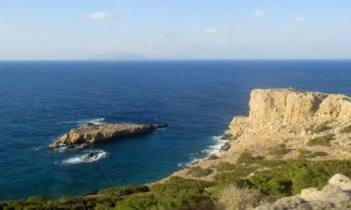 GRECJA / Karpathos / okolice Olympos / W drodze