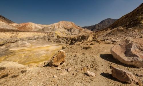 Zdjęcie GRECJA / Dodekanez / Nisyros / krater wulkanu