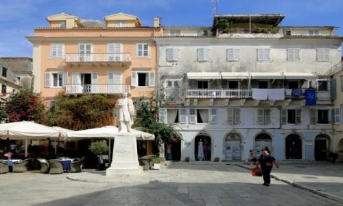 GRECJA / Wyspy Jońskie / Korfu / Korfu - klimaty Starego Miasta