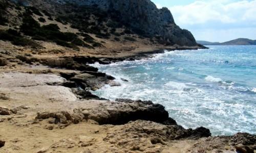 Zdjecie GRECJA / Karpathos / Arkasa / Dziki brzeg