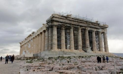 Zdjecie GRECJA / - / Ateny / Partenon