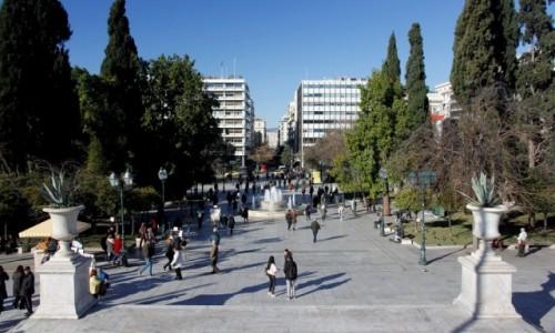 Zdjęcie GRECJA / - / Ateny / Plac Syntagma