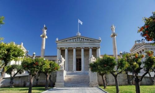 Zdjęcie GRECJA / - / Ateny / Akademia Ateńska