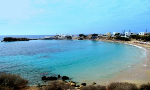 Zdjecie GRECJA / Karpathos / Lefkos / Spokojna zatoka