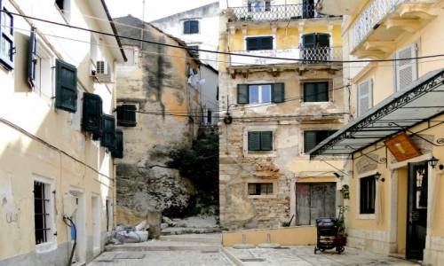 Zdjecie GRECJA / Wyspy Jońskie - Korfu / Korfu / Korfu - w zaukach Starego Miasta