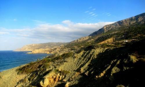 Zdjecie GRECJA / Karpathos / W drodze do Olympos / Góry Karpathos