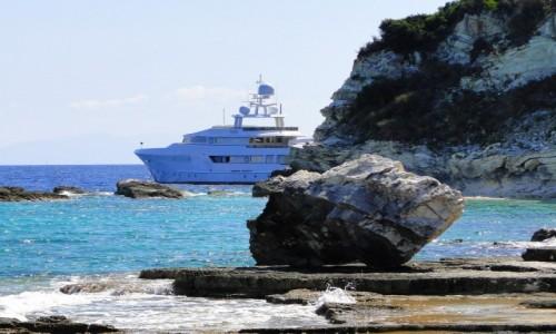 Zdjęcie GRECJA / Wyspy Jońskie / Antipaxos / U wybrzeża Antipaxos.