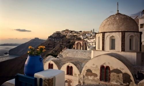 Zdjecie GRECJA / Cyklady / Santorini / Thira
