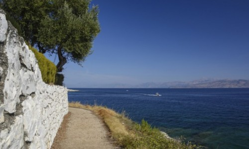 Zdjecie GRECJA / Wyspy Jońskie - Korfu / Kassiopi / spacerkiem wzdłuż brzegu Kassiopi