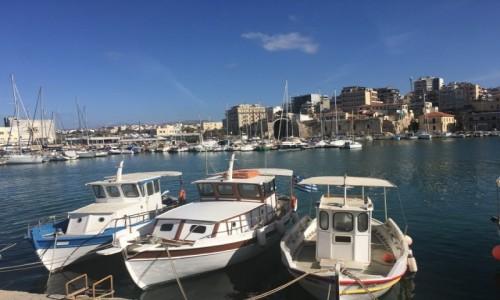 Zdjecie GRECJA / Heraklion  / Heraklion  / Port Heraklion