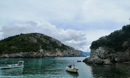 Zdjecie GRECJA / Korfu / Paleokastritsa / Zatoka Paleokastritsa 1
