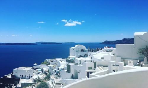 Zdjecie GRECJA / Santorini / Oia  / Raj na ziemi