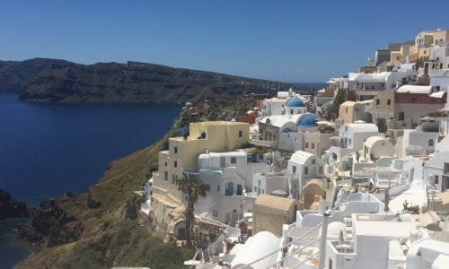 Zdjecie GRECJA / Santorini / Oia  / Piękno Santorini