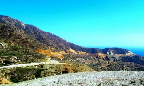 GRECJA / Karpathos / W drodze do Olympos / Karpathoskie drogi