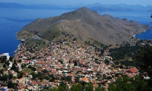 Zdjecie GRECJA / Archipelag Dodekanez / Simi / krajobrazy Simi