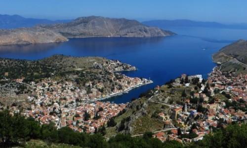 GRECJA / Archipelag Dodekanez / Simi / krajobrazy Simi