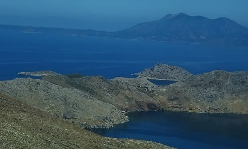 Zdjęcie GRECJA / Archipelag Dodekanez / Simi / krajobrazy Simi