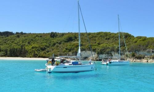 Zdjecie GRECJA / MORZE JONSKIE / Antipaxos / VOUTOUMI beach