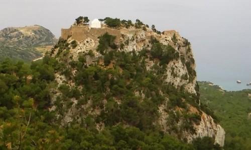 Zdjecie GRECJA / Archipelag Dodekanez / Wyspa Rodos / Monolithos ruiny zamku Joanitów