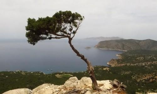 Zdjecie GRECJA / Archipelag Dodekanez / Wyspa Rodos / Monolithos widok z zamku Joanitów