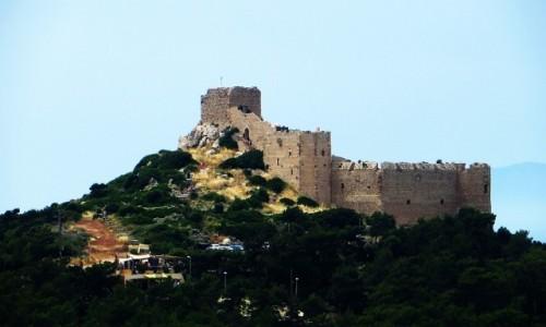 Zdjecie GRECJA / Archipelag Dodekanez / Wyspa Rodos - Kritinia / zamek Joanitów