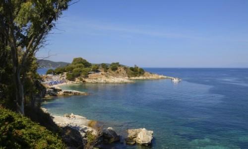 Zdjecie GRECJA / Corfu / Kassiopi / Bataria Beach