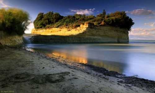 Zdjęcie GRECJA / Korfu / Sidari / Klify w  Sidari