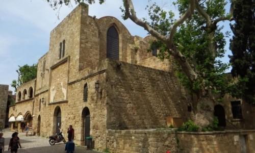 Zdjecie GRECJA / Archipelag Dodekanez / Wyspa Rodos - Rodos / Muzeum Sztuki Bizantyjskiej