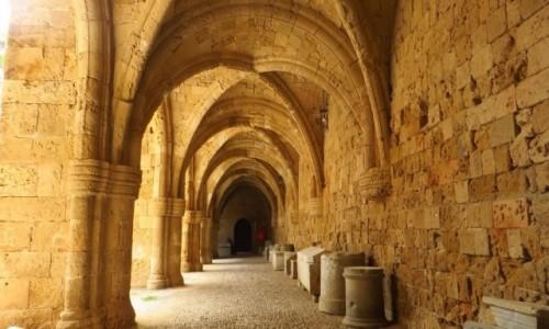 Zdjecie GRECJA / Archipelag Dodekanez / Wyspa Rodos - Rodos / Muzeum Archeologiczne