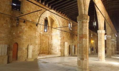 Zdjecie GRECJA / Archipelag Dodekanez / Wyspa Rodos - Rodos / Muzeum Archeologiczne - Wielka Sala Szpitalna