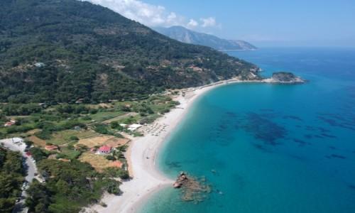 Zdjecie GRECJA / Samos / Samos / Samos z Drona