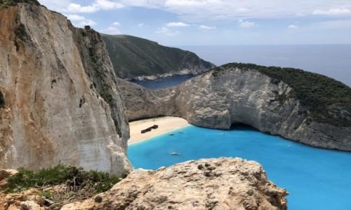 GRECJA / - / Zatoka Wraku / Wyspa Zakynthos