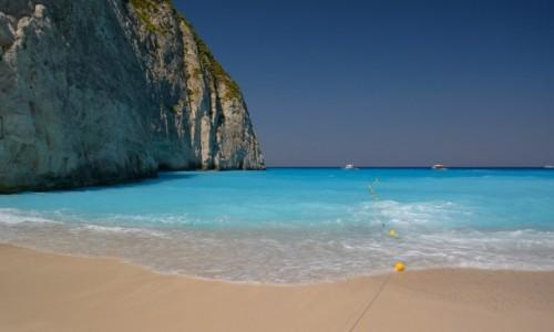 Zdjęcie GRECJA / Wyspy Jońskie / Zakynthos / Plaża Navagio (Plaża Wraku)